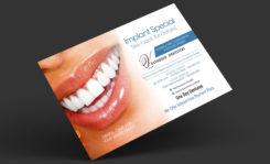 Postcard for Dental Implants
